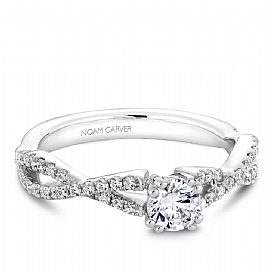 Engagement Ring by Crown Ring