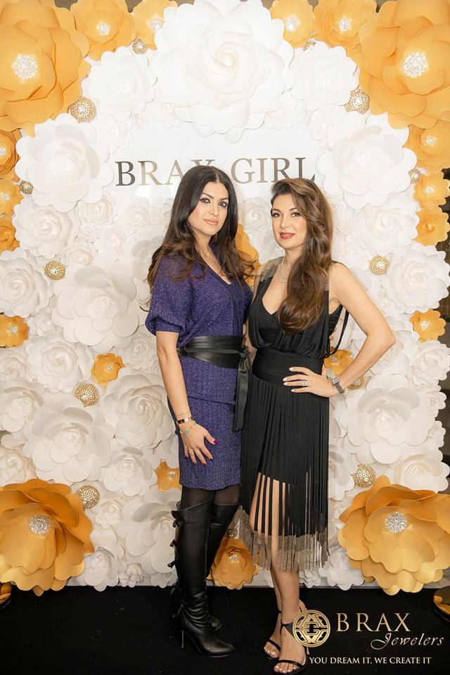 Amy Astaraee, the owner and founder of Brax Jewelers withDr. Layla Sade, Holistic Nutrition Practitioner and CEO and founder of Total Nutricare.