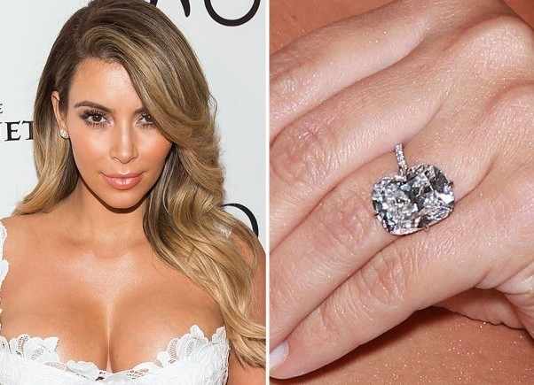 Trendy Diamond Rings Spectacular Cushion Cut Earrings Of 20 Carats Each Being